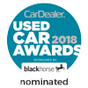 CarDealer's Used Car Awards 2018 nominated